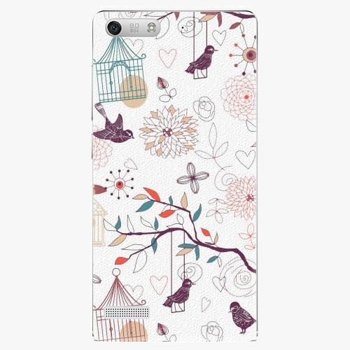 Plastový kryt iSaprio - Birds - Huawei Ascend G6