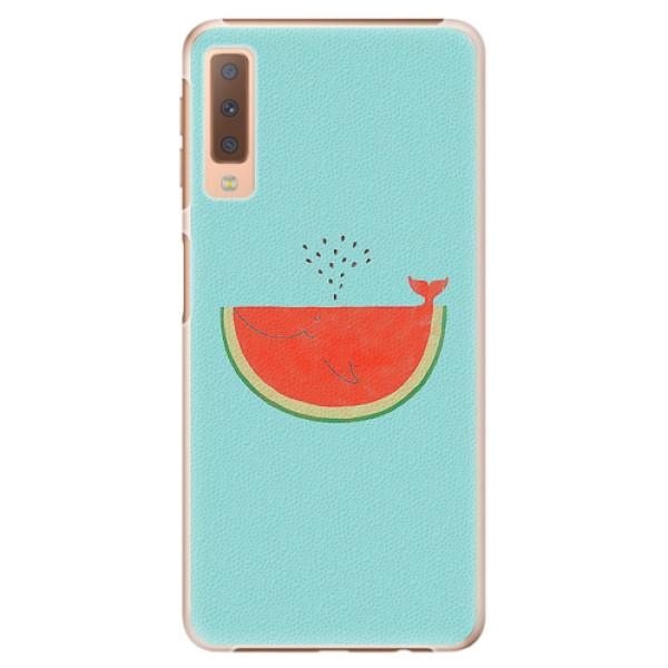 Plastové pouzdro iSaprio - Melon - Samsung Galaxy A7 (2018)