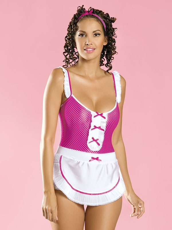 Sexy kostým Creola maid - Obsessive - Original/S/M