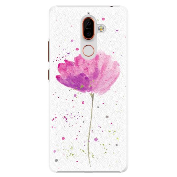 Plastové pouzdro iSaprio - Poppies - Nokia 7 Plus