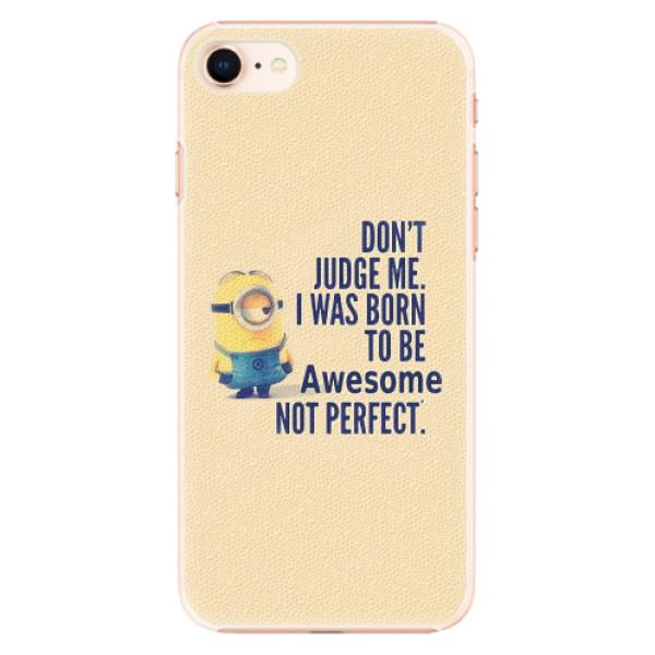 Plastové pouzdro iSaprio - Be Awesome - iPhone 8