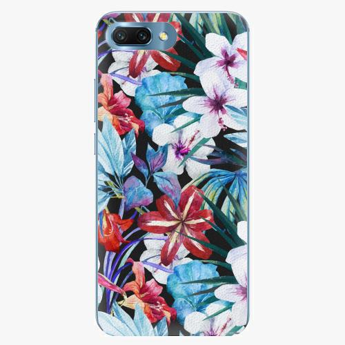 Plastový kryt iSaprio - Tropical Flowers 05 - Huawei Honor 10