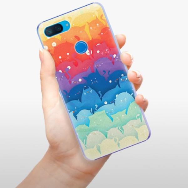 Plastové pouzdro iSaprio - Cats World - Xiaomi Mi 8 Lite