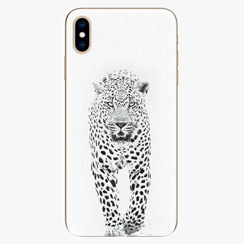 Plastový kryt iSaprio - White Jaguar - iPhone XS Max