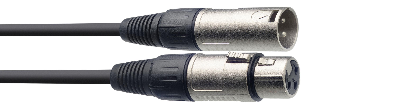 Stagg SMC6, kabel mikrofonní XLR/XLR, 6m