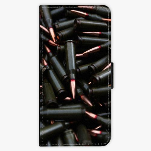 Flipové pouzdro iSaprio - Black Bullet - Samsung Galaxy A3 2017