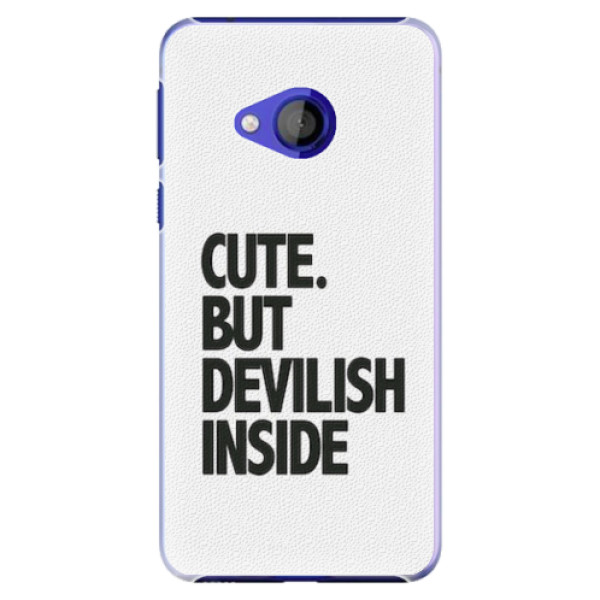 Plastové pouzdro iSaprio - Devilish inside - HTC U Play