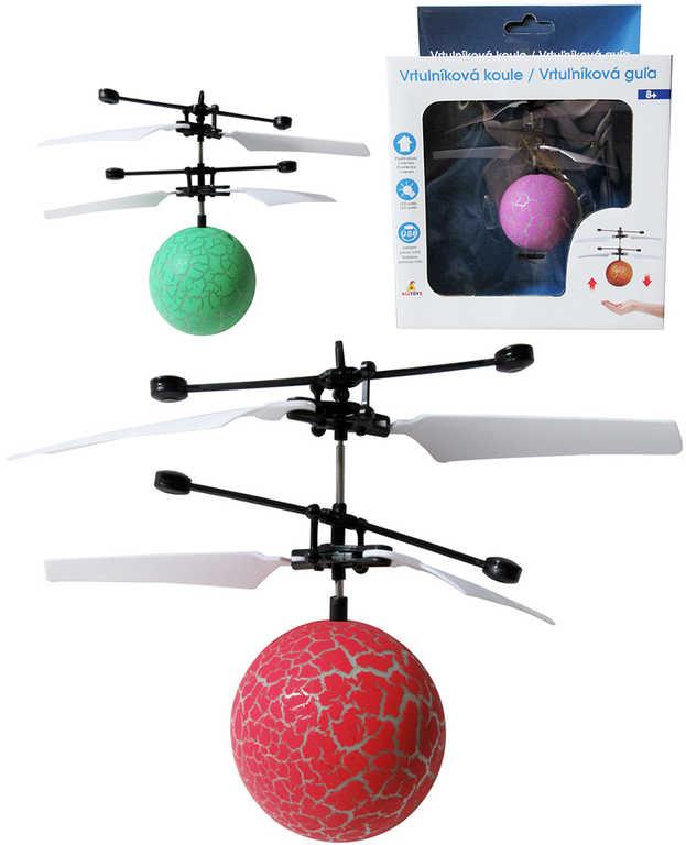 Koule vrtulníková ovládání pohybem ruky na baterie USB LED - 3 barvy