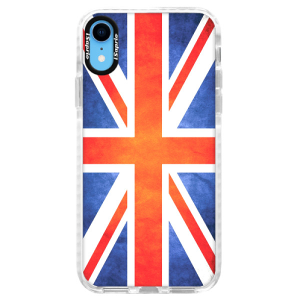 Silikonové pouzdro Bumper iSaprio - UK Flag - iPhone XR