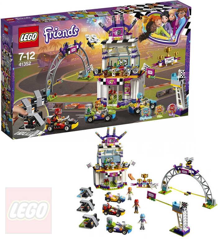 LEGO FRIENDS Velký závod 41352 STAVEBNICE