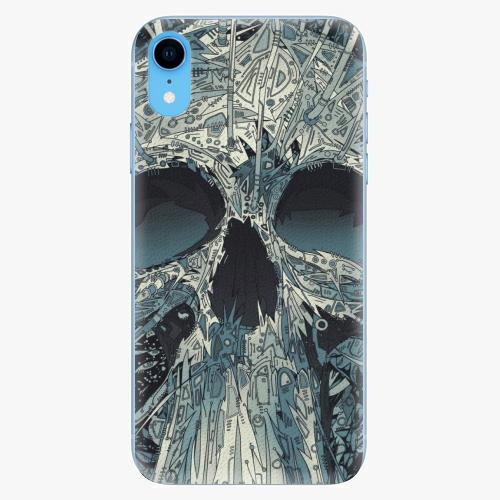 Silikonové pouzdro iSaprio - Abstract Skull - iPhone XR