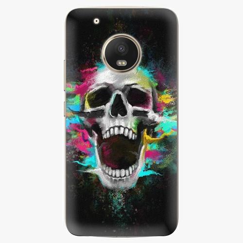 Plastový kryt iSaprio - Skull in Colors - Lenovo Moto G5 Plus