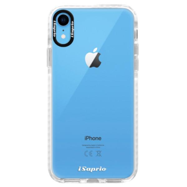 Silikonové pouzdro Bumper iSaprio - 4Pure - mléčný bez potisku - iPhone XR