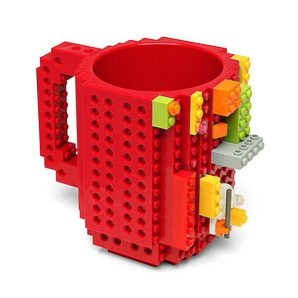 LEGO hrnek - červená
