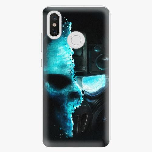 Plastový kryt iSaprio - Roboskull - Xiaomi Mi 8