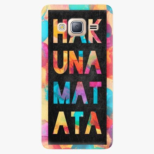Plastový kryt iSaprio - Hakuna Matata 01 - Samsung Galaxy J3