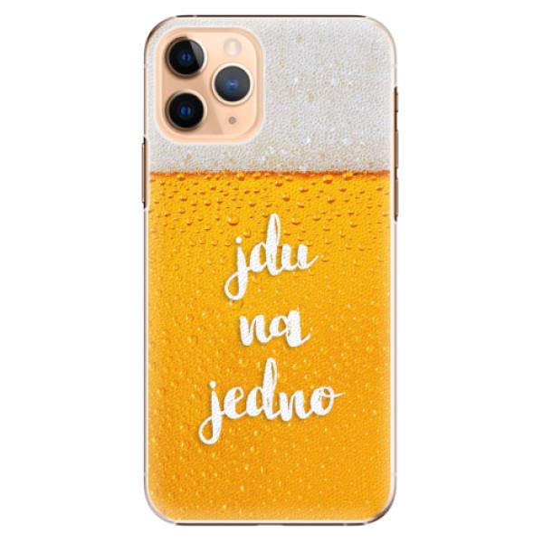 Plastové pouzdro iSaprio - Jdu na jedno - iPhone 11 Pro