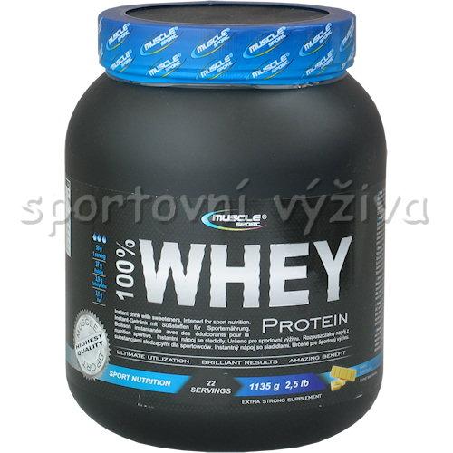 100% Whey protein - 1135g-liskovy-orech