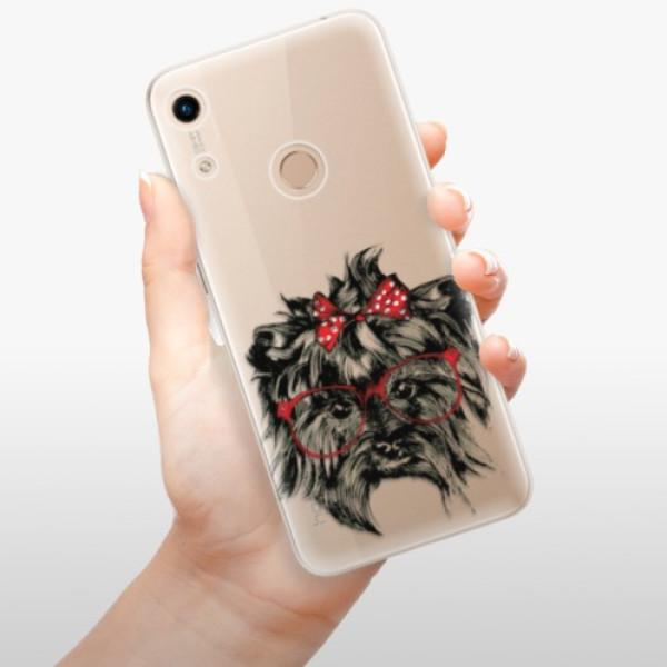 Odolné silikonové pouzdro iSaprio - Dog 03 - Huawei Honor 8A