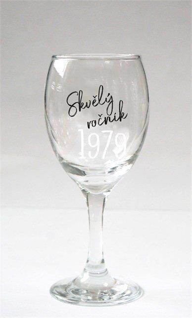 ALBI - Sklenice na víno - 1979