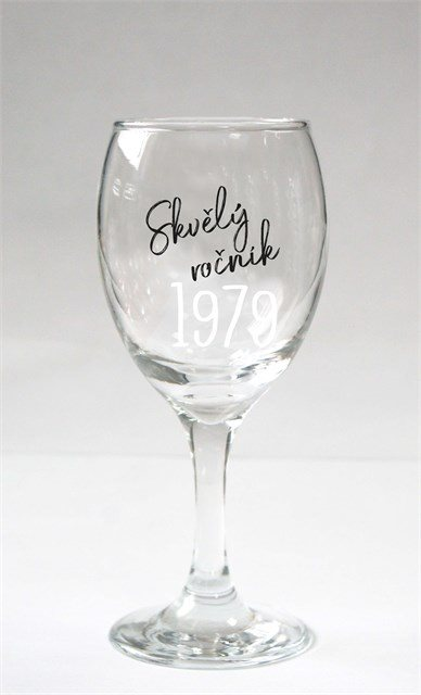 - Sklenice na víno - 1979
