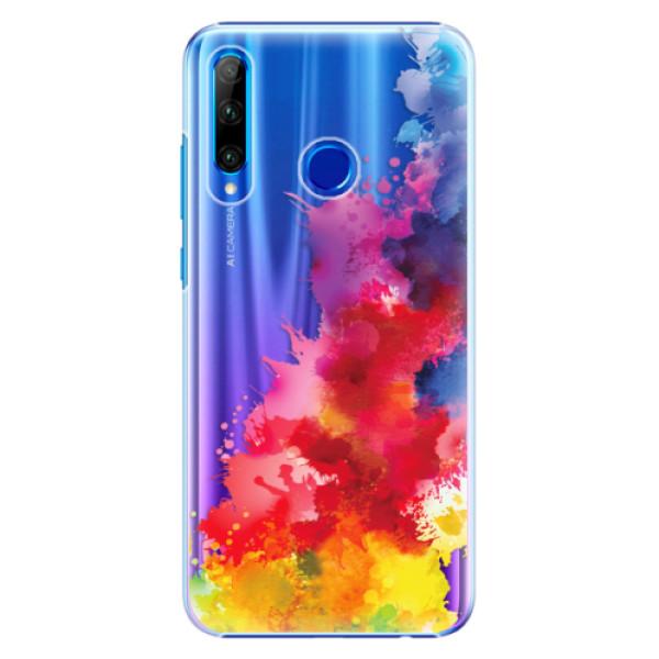 Plastové pouzdro iSaprio - Color Splash 01 - Huawei Honor 20 Lite