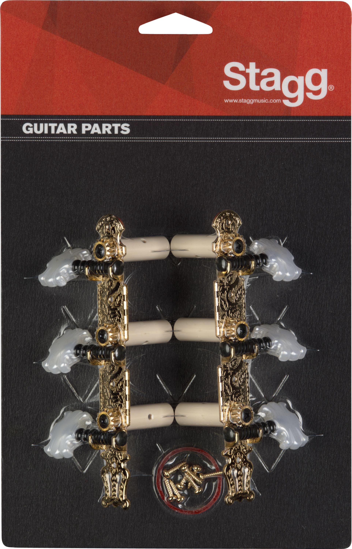 Stagg KG360, ladící mechanika pro klasickou kytaru