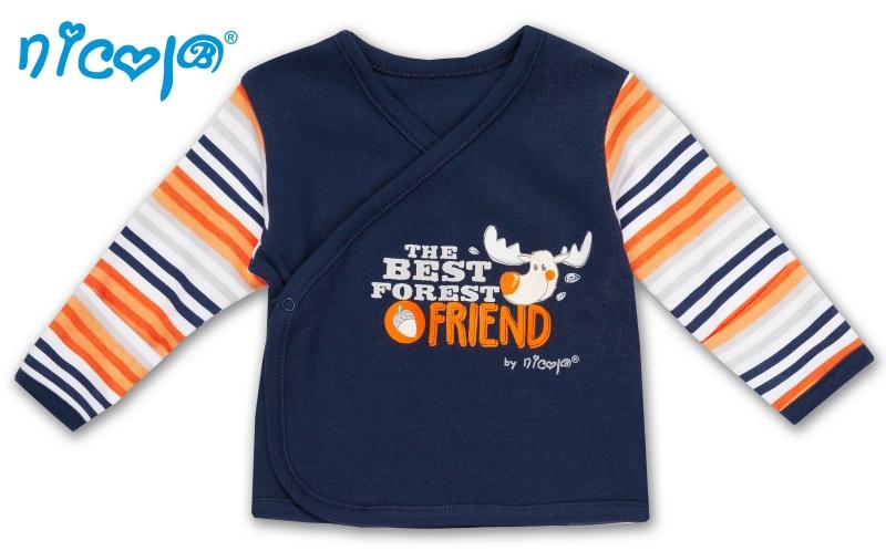 Novorozenecká košilka - Losík, vel. 68 - 68 (4-6m)