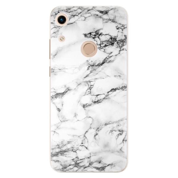 Odolné silikonové pouzdro iSaprio - White Marble 01 - Huawei Honor 8A