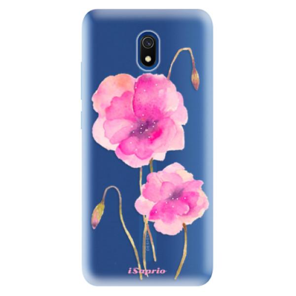 Odolné silikonové pouzdro iSaprio - Poppies 02 - Xiaomi Redmi 8A