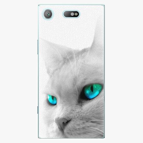 Plastový kryt iSaprio - Cats Eyes - Sony Xperia XZ1 Compact