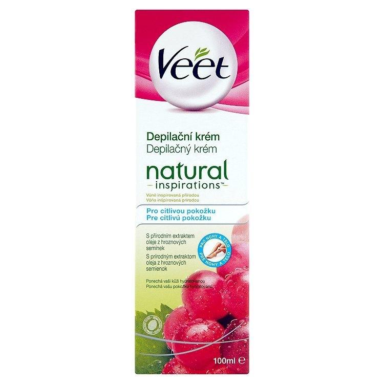 Natural Inspirations depilační krém pro citlivou pokožku 100 ml
