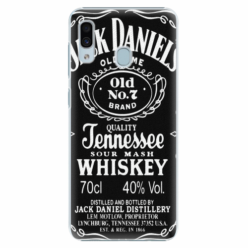Plastový kryt iSaprio - Jack Daniels - Samsung Galaxy A30