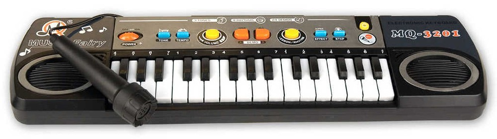 Piano elektronické na baterie keyboard 31 kláves se zvukem