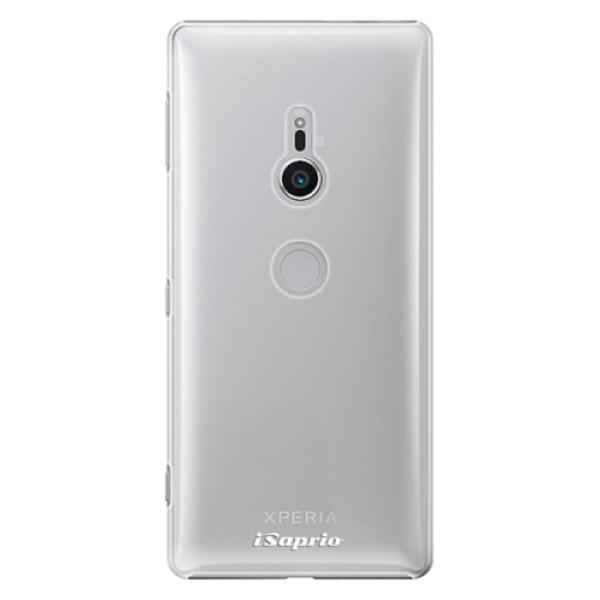 Plastové pouzdro iSaprio - 4Pure - mléčný bez potisku - Sony Xperia XZ2