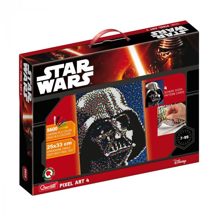 Quercetti Pixel Art 4 Star Wars Darth Vader 0855