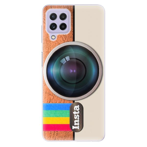 Odolné silikonové pouzdro iSaprio - Insta - Samsung Galaxy A22