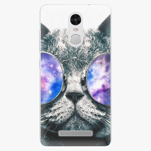 Plastový kryt iSaprio - Galaxy Cat - Xiaomi Redmi Note 3 Pro