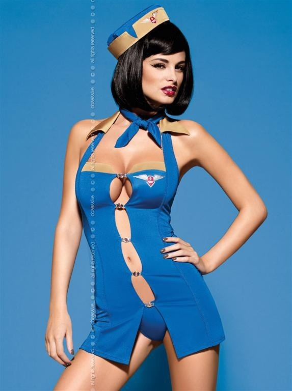 Sexy kostým Obsessive Air Hostess - Original - L/XL