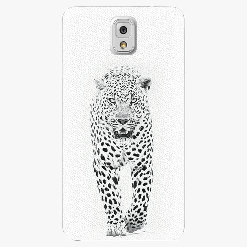 Plastový kryt iSaprio - White Jaguar - Samsung Galaxy Note 3