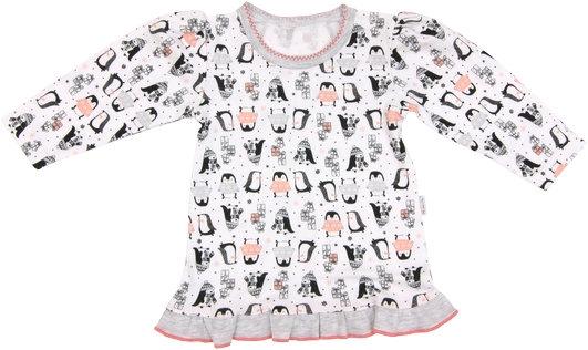 Mamatti Bavlněná halenka Penguin - dlouhý rukáv, roz.