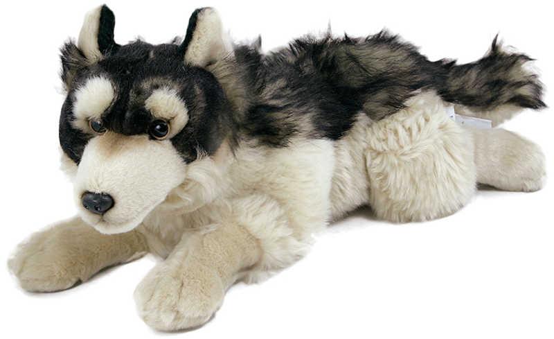 PLYŠ Vlk ležící 30 cm