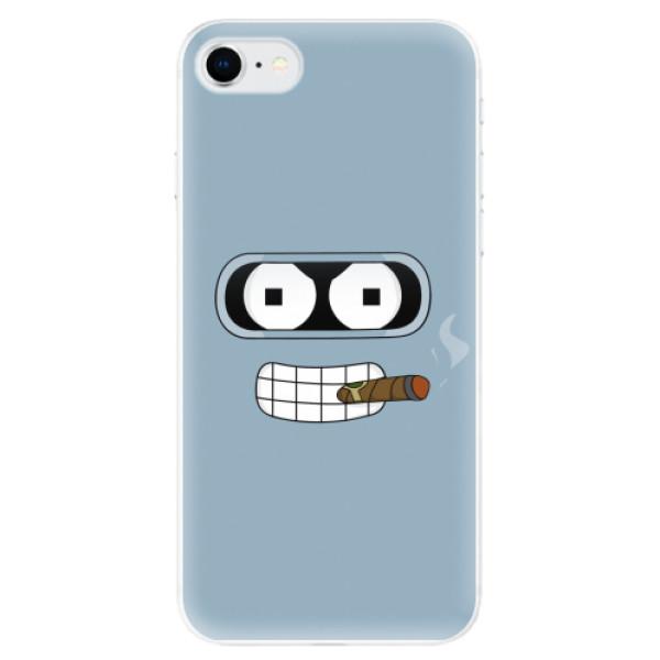 Odolné silikonové pouzdro iSaprio - Bender - iPhone SE 2020