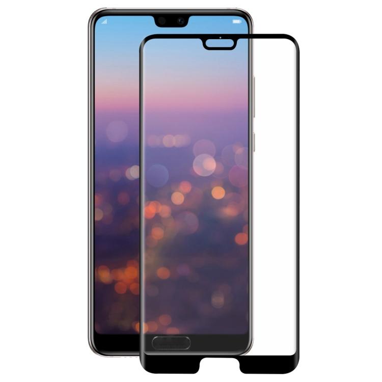 Tvrzené 3D sklo pro Huawei P20 – black