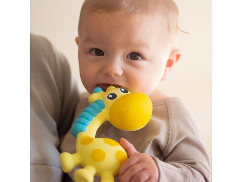 Playgro - Kaučukové kousátko Žirafka