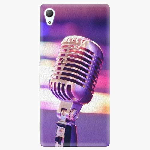 Plastový kryt iSaprio - Vintage Microphone - Sony Xperia Z3+ / Z4