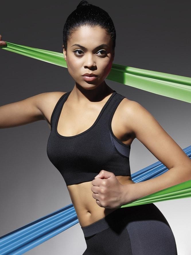 Dámský fitness top BAS BLEU Teamtop 30 černá