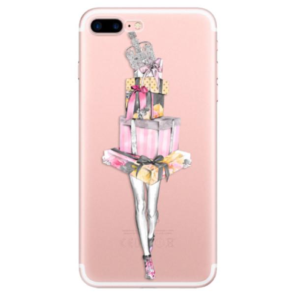 Odolné silikonové pouzdro iSaprio - Queen of Shopping - iPhone 7 Plus
