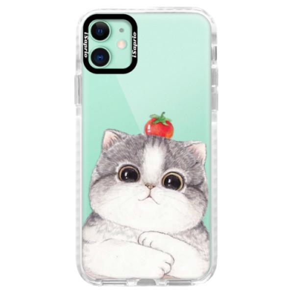 Silikonové pouzdro Bumper iSaprio - Cat 03 - iPhone 11