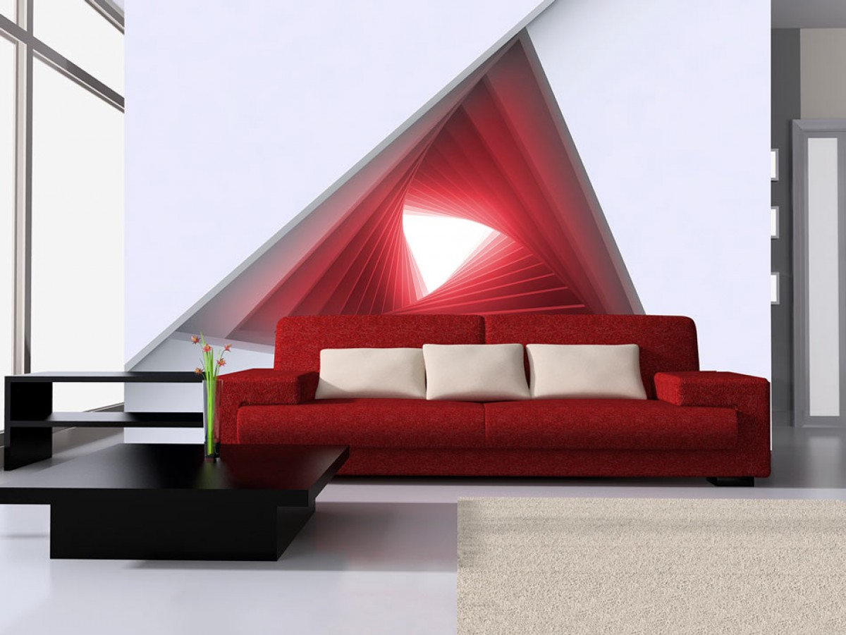 3D tapeta Okno do budoucnosti III.